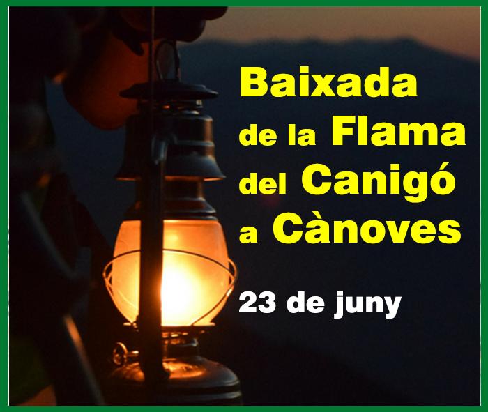banner flama canigó