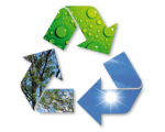 Símbol energies renovables.