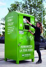 Donar roba usada a Humana per un bé social.