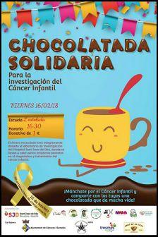 cartell xocolatada