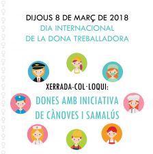Xerrada-col·loqui de dones emprenedores de Cànoves i Samalús
