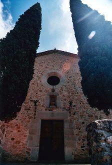 Façana principal església Sant Andreu.