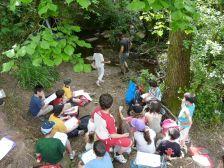 Un any més 'Vida d'un riu' -sortida d'un dia - amb 1.555 participants, ha estat l'activitat més demandada.