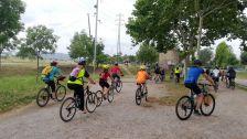 la 16a edició de la Bicicletada va aplegar mig miler de ciclistes.