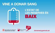 imatge crida donació sang