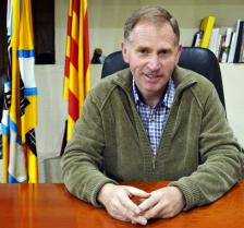 Josep Cuch i Codina.  L'Alcalde